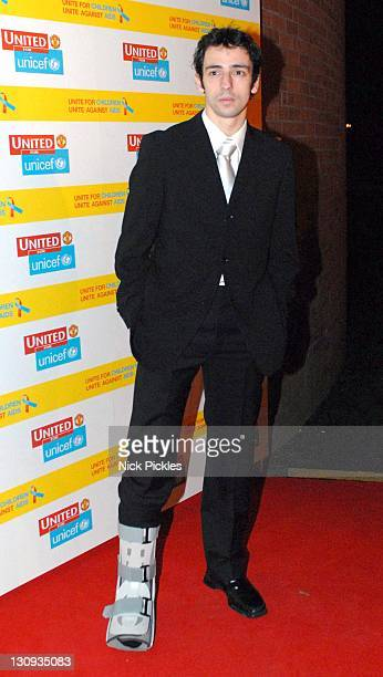 Ralf Little during United for UNICEF Gala Dinner Arrivals at Old Trafford Manchester United Football Club in Manchester Great Britain