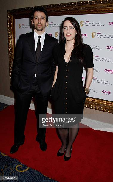 Ralf Little Michelle Ryan attends the BAFTA Video Games Awards at the 'Park Lane Hotel' on March 19 2010 in London England