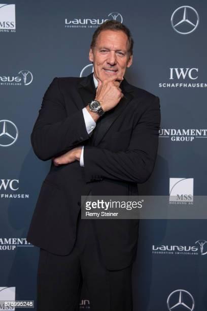 Ralf Moeller attends the 11th Laureus Charity Night at Hangar Duebendorf on November 18 2017 near Zurich Switzerland