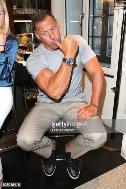 Ralf Moeller attends the exclusive grand opening event of the new IWC Schaffhausen Boutique in Munich on June 28 2017 in Munich Germany