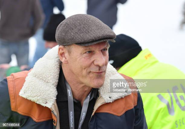 Ralf Moeller attends the Hahnenkamm race on January 20 2018 in Kitzbuehel Austria