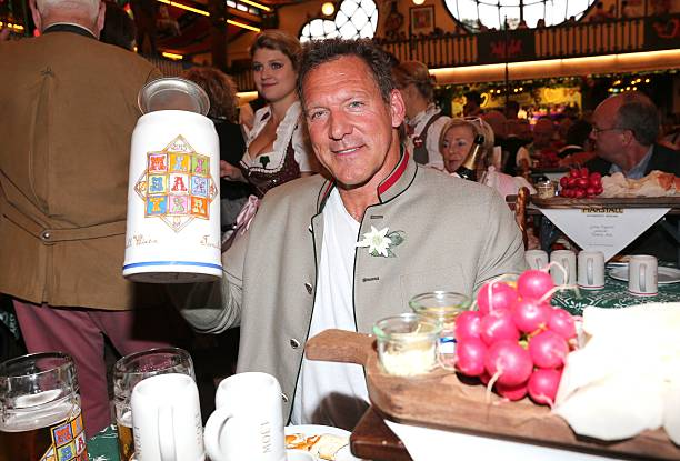 Ralf Moeller attends the 'Wiesn-Gipfel' during the Oktoberfest 2015 at  Marstall /