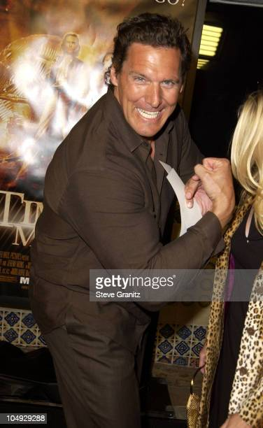 Ralf Moeller during 'The Time Machine' Premiere at Mann Village Theatre in Westwood California United States
