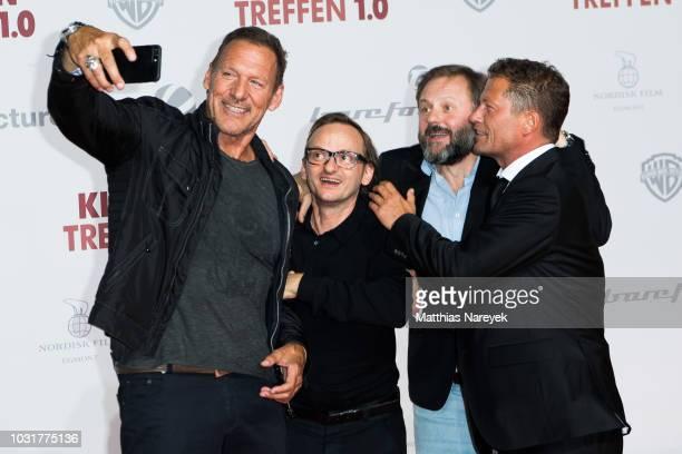 Ralf Moeller Milan Peschel Samuel Finzi and Til Schweiger attend the premiere of the film 'Klassentreffen 10 Die unglaubliche Reise der...