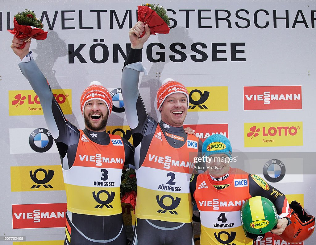 Luge World Championships 2016 - Day 2