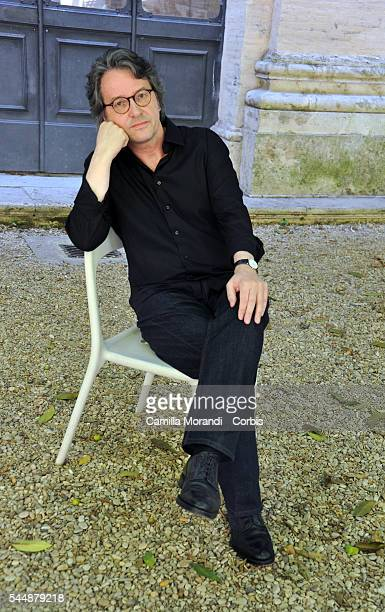 Ralf Rothmann poses for a portrait at Festival delle Letterature on June 20 2016 in Rome Italy
