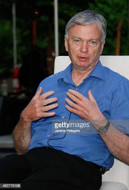 Ralf Schaefer attends Livestage Summer Splash For the Love of Music Launch Event on July 26 2014 in East Hampton New York