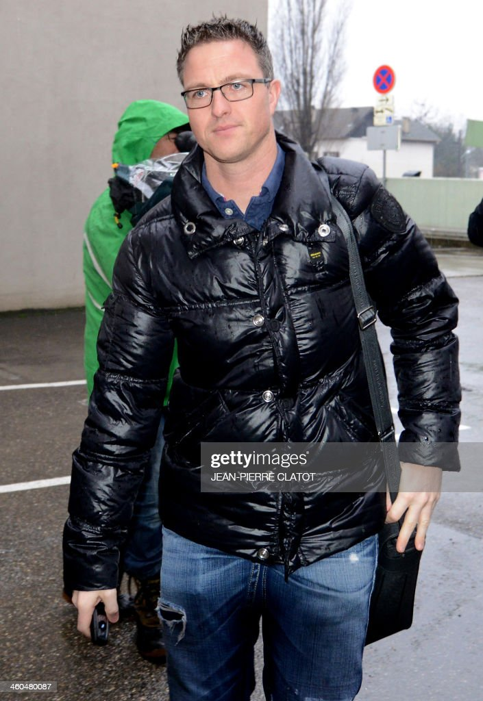 Ralf Schumacher Arrives On January 4 2017 At The French Alpine City Of Grele Hospital