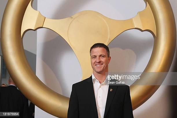 """Ralf Schumacher attends """"Das Goldene Lenkrad 2011"""" Awards at Axel-Springer Haus on November 9, 2011 in Berlin, Germany."""