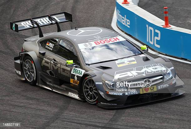 Ralf Schumacher attends the hal final during the DTM German Touring Car - Munich 2012 at Olympiastadion on July 14, 2012 in Munich, Germany.