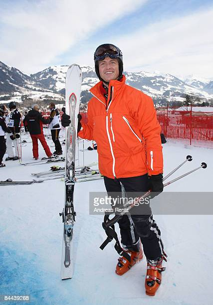 Ralf Schumacher attends the 'Kitz Charity Race' during Hahnenkamm Race weekend on January 24 2009 in Kitzbuehel Austria