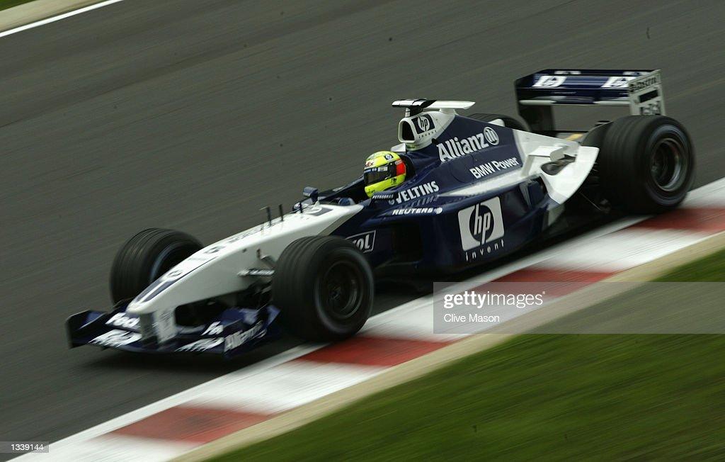 Ralf Schumacher on the track : News Photo