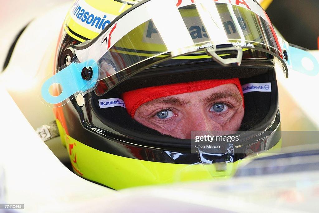 Brazilian Formula One Grand Prix: Practice : News Photo