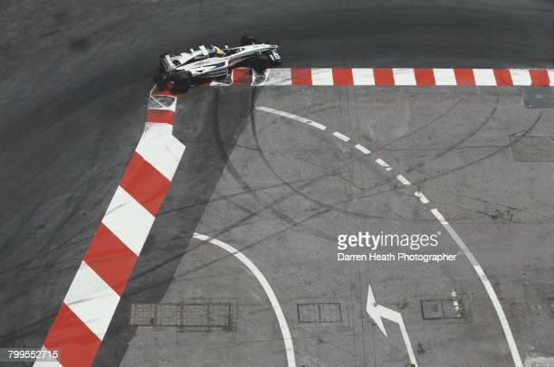 Ralf Schumacher of Germany drives the BMW Williams F1 Team Williams FW22 BMW V10 during the Formula One Monaco Grand Prix on 4 June 2000 at the...