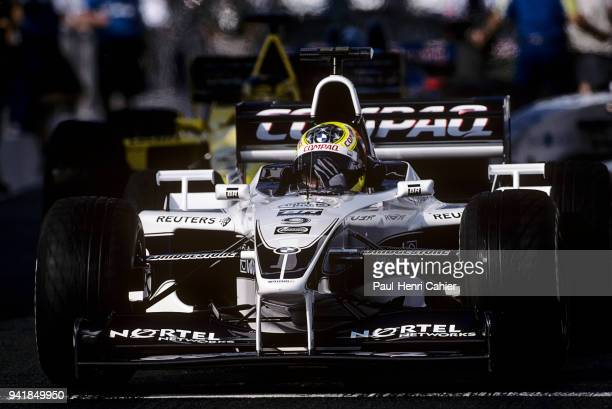 Ralf Schumacher WilliamsBMW FW22 Grand Prix of France Circuit de Nevers MagnyCours 02 July 2000