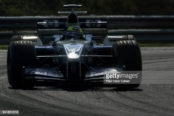 Ralf Schumacher WilliamsBMW FW24 Grand Prix of Hungary Hungaroring 18 August 2002