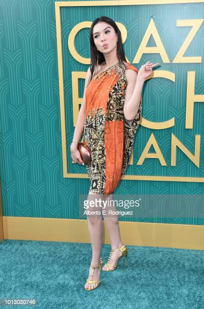 """Raline Shah attends the premiere of Warner Bros. Pictures' """"Crazy Rich Asiaans"""" at TCL Chinese Theatre IMAX on August 7, 2018 in Hollywood,..."""