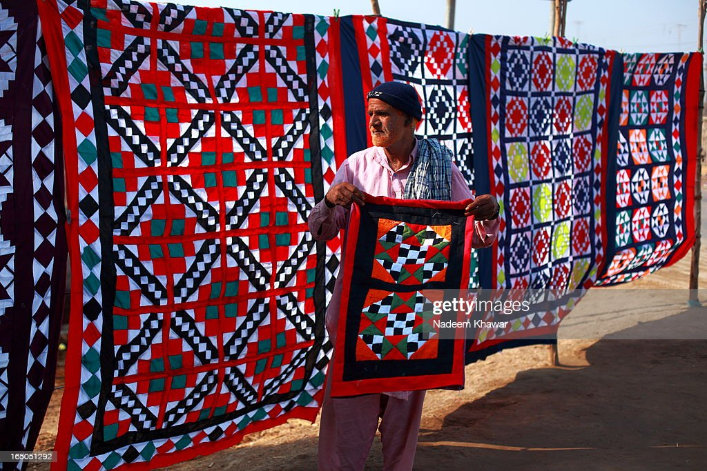 Ralli quilts Seller,Sukkur-Pakistan Pictures | Getty Images : ralli quilts - Adamdwight.com
