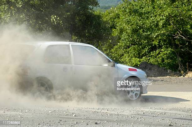 rally car on forest road, istanbul, turkey - rally car stock photos and pictures