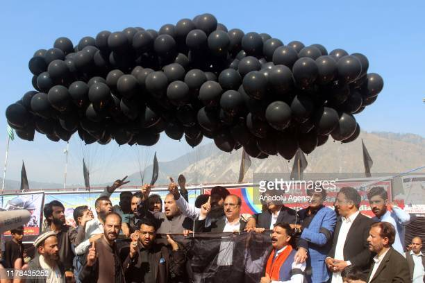 A rally held during a demonstration to mark Black Day in Muzaffarabad the capital of Pakistanadministered territory of Azad Jammu and Kashmir on...