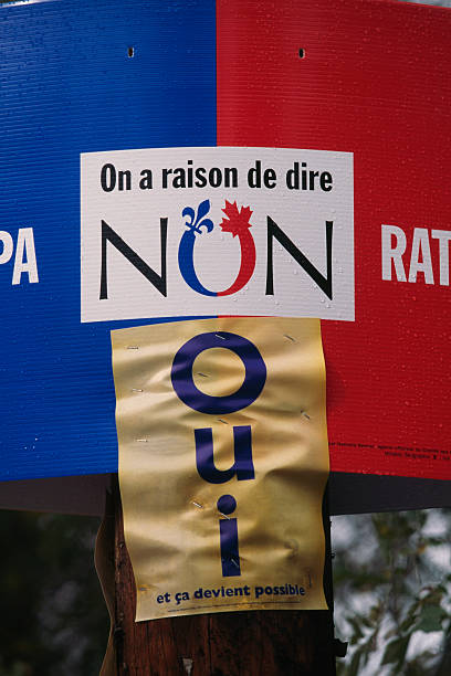 rally in support of quebecois independence pictures getty images