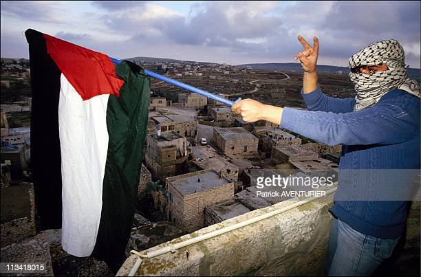 Rally - In The Occupied Territories On January 19th, 1988 In Ramallah,Israel