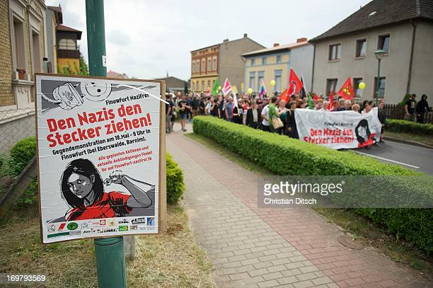CONTENT] A rally of 500600 people against a neonaziconzert in Brandenburg/Germany Christian Ditsch/versionfotode 500 bis 600 Menschen protestierten...