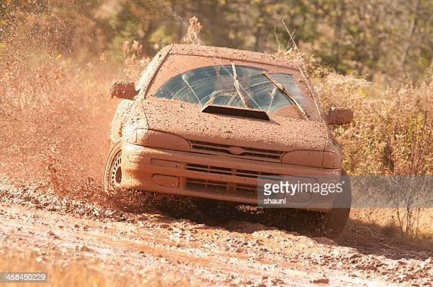 rally racing - rally car stock photos and pictures