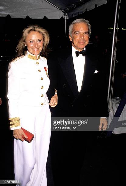 Ralph and Ricky Lauren during Woolmark Awards For Men's Fashion - June 4, 1992 at New York Public Library.