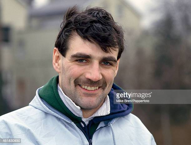 Ralph Brady of Ballymena and Ireland rugby union during a training session in London on 28th February 1986.