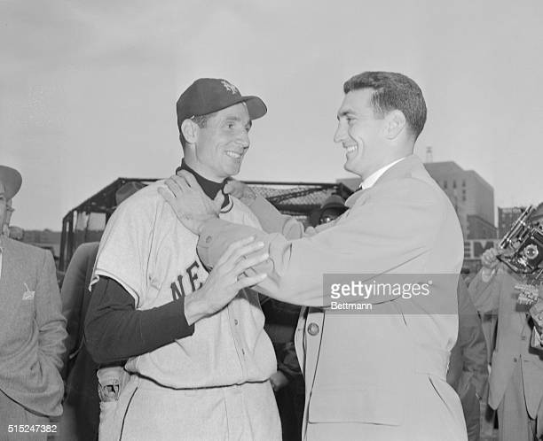 Ralph Branca the Brooklyn pitcher who was on the mound when Bobby Thomson connected for a homer that wound up the National League pennant race with a...