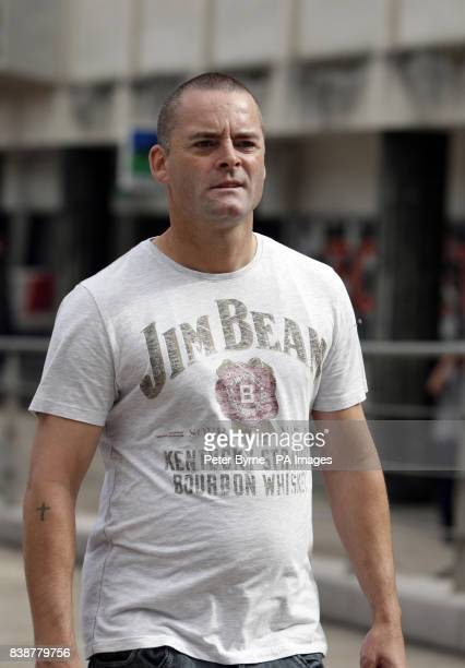 Ralph Bulger the father of James Bulger arrives at Liverpool Crown Court to make a victim personal statement to Jon Venables' parole board