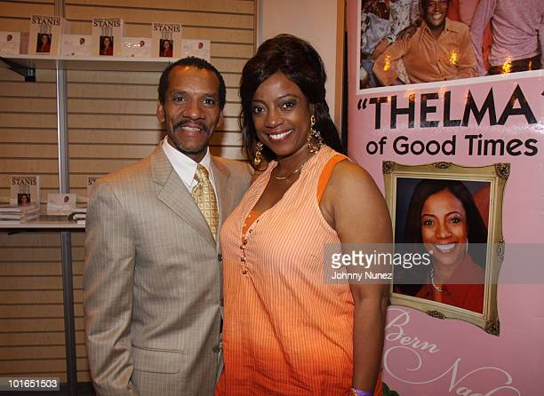 Ralph Carter and BernNadette Stanis attends the 2009 Essence Music Festival Presented by CocaCola at the Louisiana Superdome on July 4 2009 in New...