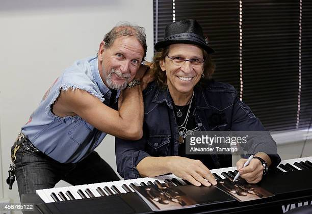 Ralph DeCurzio and Richie Supa are seen at Recovery Unplugged on November 10, 2014 in Fort Lauderdale, Florida.