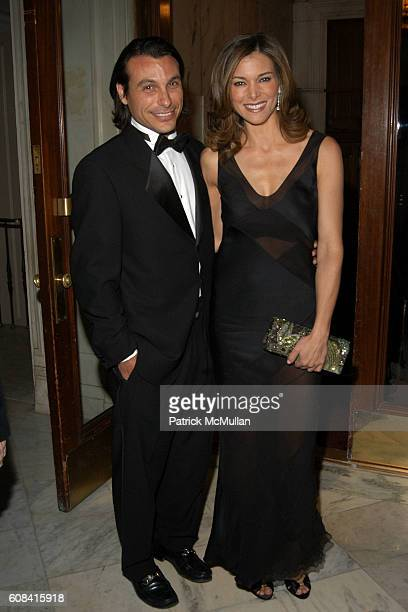Ralph Destino Jr and Courtney Rainey attend Strang Cancer Prevention Center Garden of Hope Gala at The Metropolitan Club on March 12 2007 in New York...