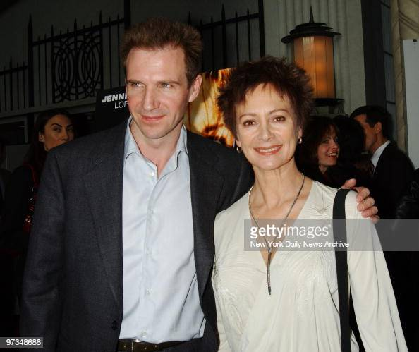Ralph Fiennes and girl...