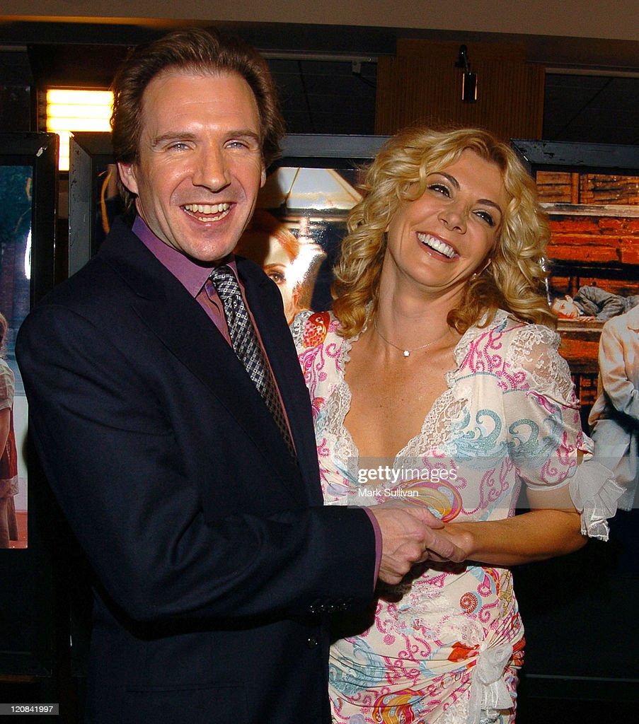 Ralph Fiennes and Natasha Richardson during 'The White Countess' Premiere - Arrivals in Los Angeles, California, United States.
