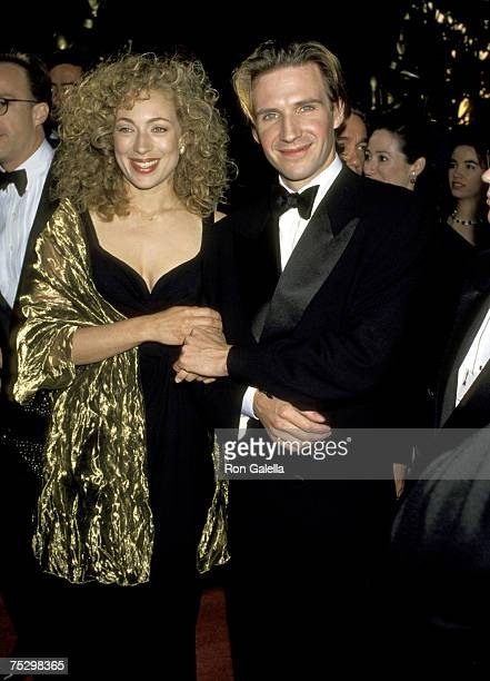 Ralph Fiennes and Wife Alex Kingston