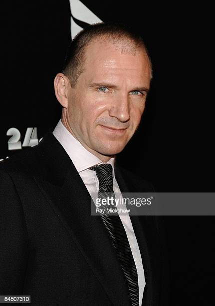 Ralph Fiennes arrives at the Cinema Vangaurd Awards on day 6 of the Santa Barbara International Film Festival on January 27 2009 in Santa Barbara...