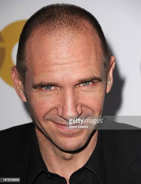 Ralph Fiennes arrives at the GQ Men Of The Year Party at The Wilshire Ebell Theatre on November 12 2013 in Los Angeles California