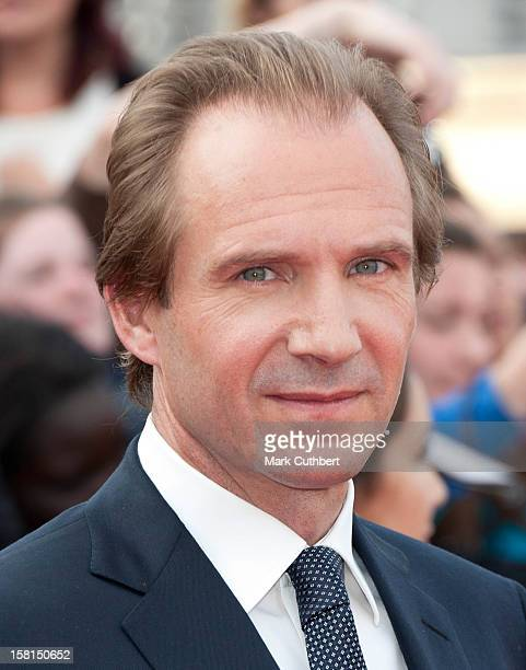 Ralph Fiennes Arriving For The World Premiere Of Harry Potter And The Deathly Hallows Part 2 In London