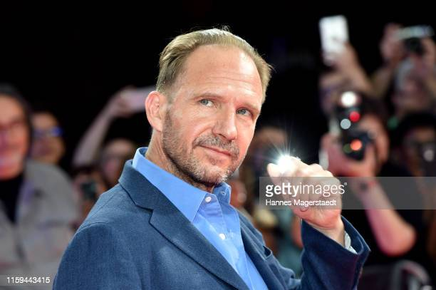 Ralph Fiennes at the CineMerit Gala for Ralph Fiennes during the Munich Film Festival at Gasteig on July 01, 2019 in Munich, Germany. British actor...