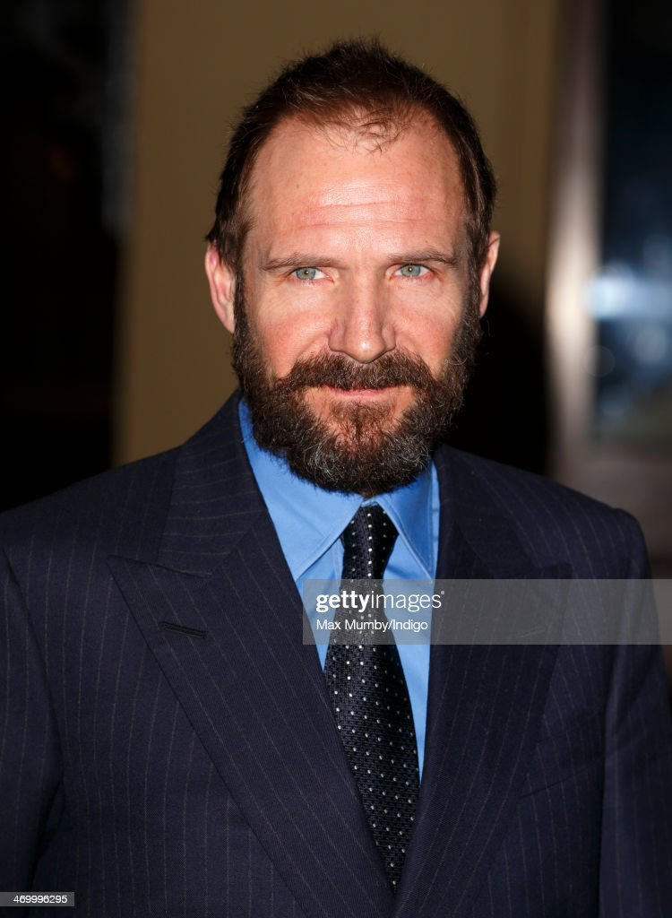 Ralph Fiennes attends a Dramatic Arts reception hosted by Queen Elizabeth II at Buckingham Palace on February 17, 2014 in London, England.
