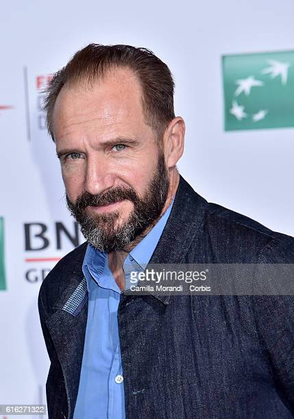 Ralph Fiennes attends a photocall for 'The English Patient Il Paziente Inglese' during the 11th Rome Film Festival on October 22 2016 in Rome Italy