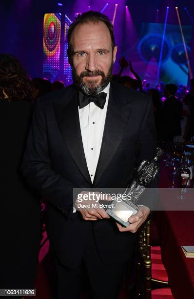 Ralph Fiennes attends The 64th Evening Standard Theatre Awards after party at the Theatre Royal Drury Lane on November 18 2018 in London England