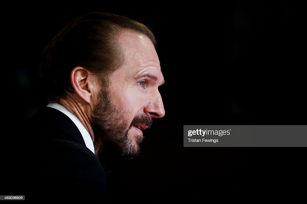 Ralph Fiennes attends the EE British Academy Film Awards at The Royal Opera House on February 8, 2015 in London, England.