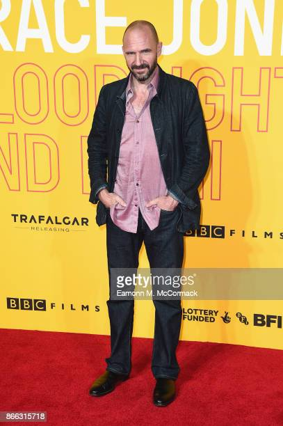 Ralph Fiennes attends the 'Grace Jones Bloodlight And Bami' UK premiere at BFI Southbank on October 25 2017 in London England