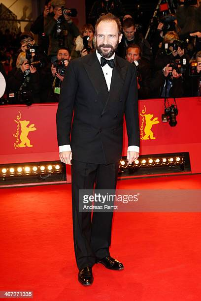 Ralph Fiennes attends 'The Grand Budapest Hotel' Premiere and opening ceremony during the 64th Berlinale International Film Festival at Berlinale...