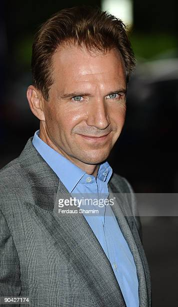 Ralph Fiennes attends the Harper's Bazaar Women Of The Year Awards at The Dorchester on September 7 2009 in London England