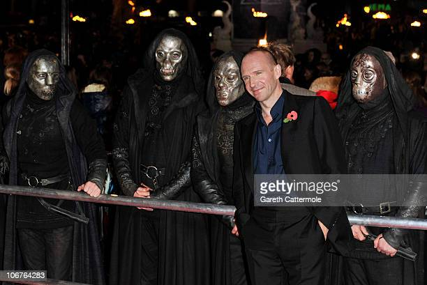 Ralph Fiennes attends the Harry Potter And The Deathly Hallows Part 1 World film premiere at Odeon Leicester Square on November 11 2010 in London...